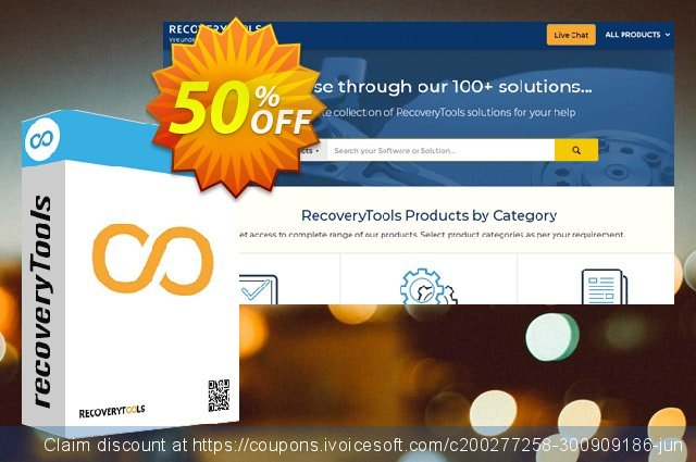 RecoveryTools DBX Migrator - Pro License discount 50% OFF, 2021 Happy New Year offering discount