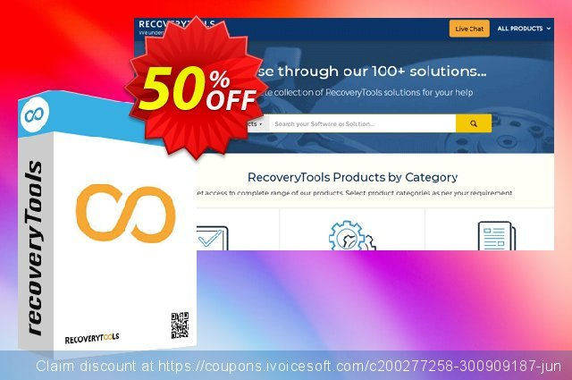 RecoveryTools DBX Migrator - Migration License discount 50% OFF, 2021 New Year's Weekend offering sales