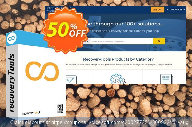 RecoveryTools Excel to vCard Wizard discount 50% OFF, 2021 New Year discounts