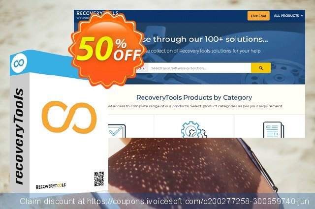 Get 50% OFF RecoveryTools Postbox Migrator Wizard - Pro License promo sales
