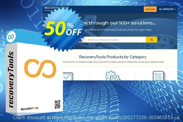 Recoverytools Winmail.dat Converter - Migration License discount 50% OFF, 2020 Halloween offering sales