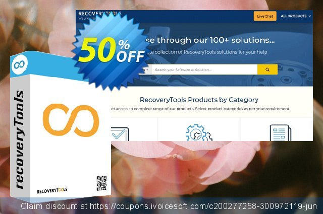 Recoverytools Mac Mail Migrator - Pro License discount 50% OFF, 2020 Halloween promotions