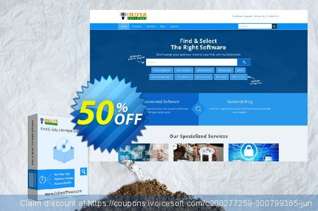 Indya Outlook to PDF discount 50% OFF, 2020 Black Friday offering sales