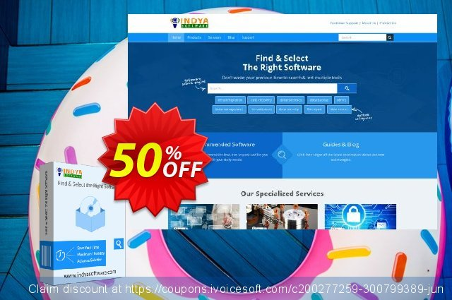 Indya OST to PST discount 50% OFF, 2020 Halloween offering sales
