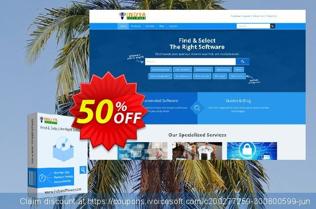 Indya Outlook to vCard discount 50% OFF, 2020 Halloween offering sales