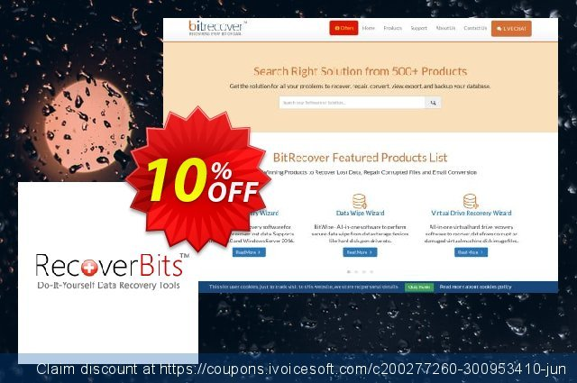 RecoverBits Recycle Bin Recovery discount 10% OFF, 2020 Halloween discount