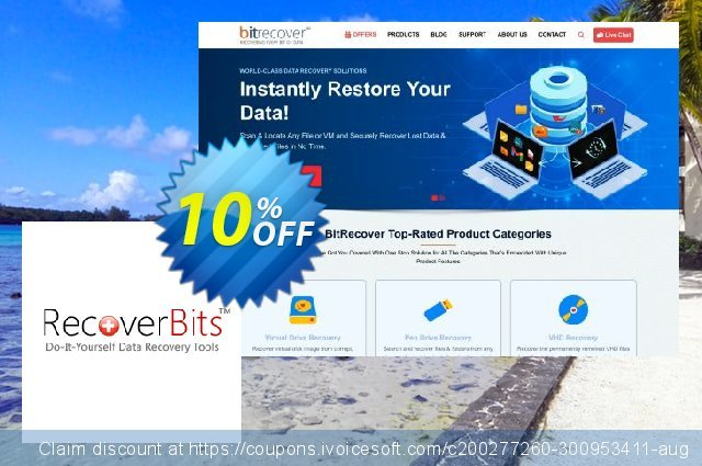 RecoverBits Recycle Bin Recovery - Technician License discount 10% OFF, 2020 Halloween offering discount
