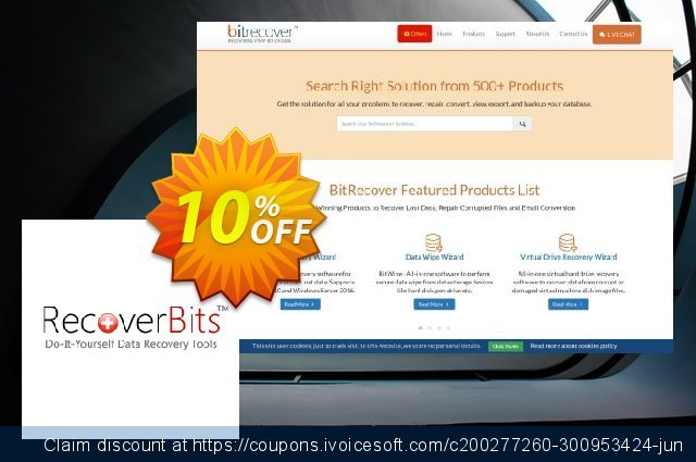 RecoverBits Formatted Data Recovery - Technician License discount 10% OFF, 2020 Halloween discounts