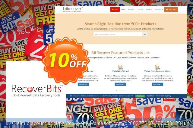 RecoverBits Partition Data Recovery - Technician License discount 10% OFF, 2020 Halloween offer