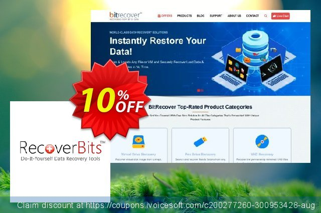 RecoverBits Partition Data Recovery - Technician License discount 10% OFF, 2021 Immigrants Day offer. Coupon code RecoverBits Partition Data Recovery - Technician License