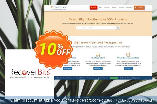 RecoverBits NTFS Data Recovery - Technician License discount 10% OFF, 2020 Halloween offering sales