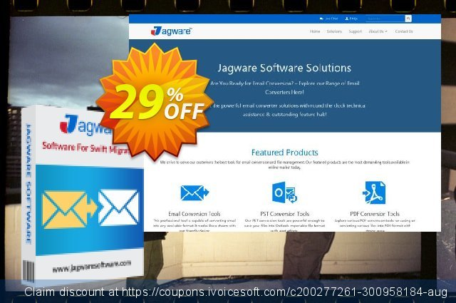 Jagware MBOX to PDF Wizard discount 29% OFF, 2020 Halloween promo sales