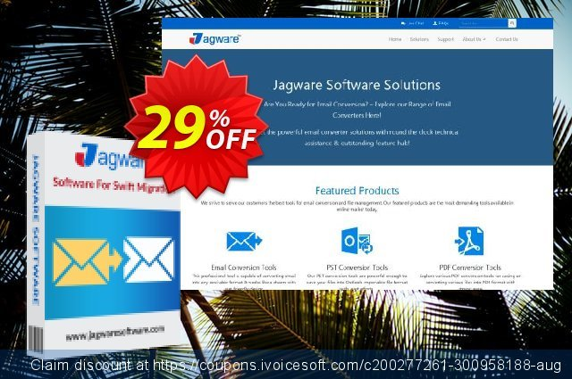 Jagware MBOX to NSF Wizard discount 29% OFF, 2021 World Teachers' Day offering sales. Coupon code Jagware MBOX to NSF Wizard - Home User License