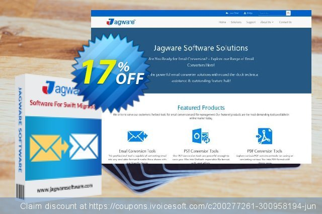 Jagware OST to PST Wizard - Business License discount 17% OFF, 2021 All Saints' Eve discounts. Coupon code Jagware OST to PST Wizard - Business License