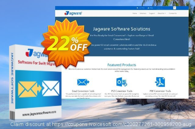 Jagware MSG to PST Wizard - Business License discount 22% OFF, 2021 National Savings Day offering discount. Coupon code Jagware MSG to PST Wizard - Business License