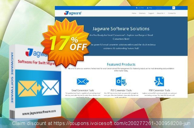 Jagware EML to PDF Wizard - Business License  위대하   제공  스크린 샷