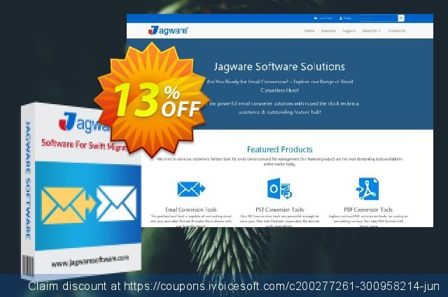 Jagware NSF to PDF Wizard - Business License discount 13% OFF, 2020 Halloween promotions