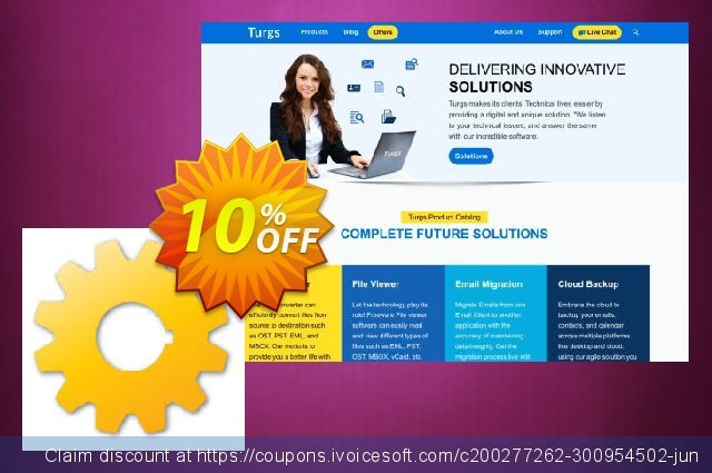 Turgs MBOX to NSF Wizard - Home User License discount 10% OFF, 2020 Halloween offering sales