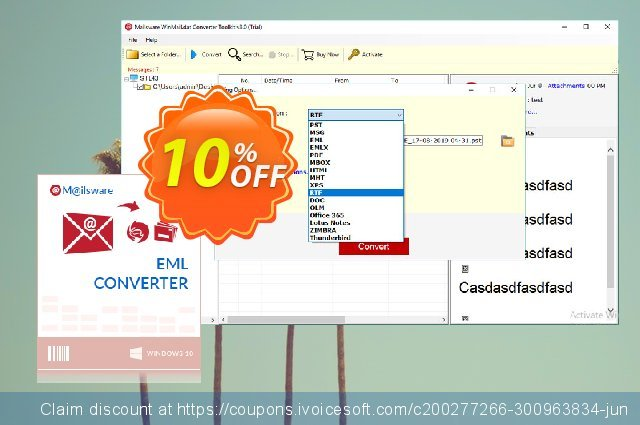 Mailsware Winmail.dat Converter Toolkit discount 10% OFF, 2021 British Columbia Day promo sales. Coupon code Mailsware Winmail.dat Converter Toolkit - Standard License