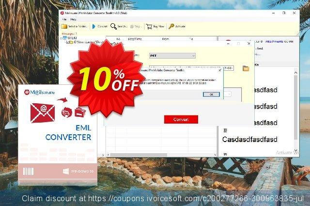 Mailsware Winmail.dat Converter Toolkit - Pro License 驚くべき 促進 スクリーンショット