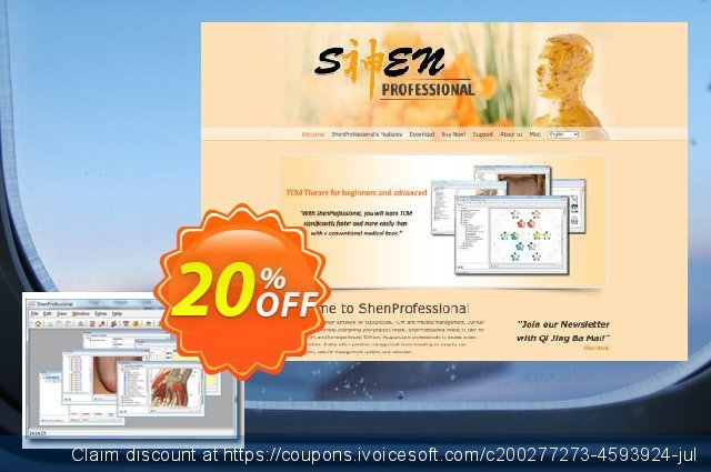 ShenProfessional 3.1 discount 20% OFF, 2021 New Year's Weekend sales