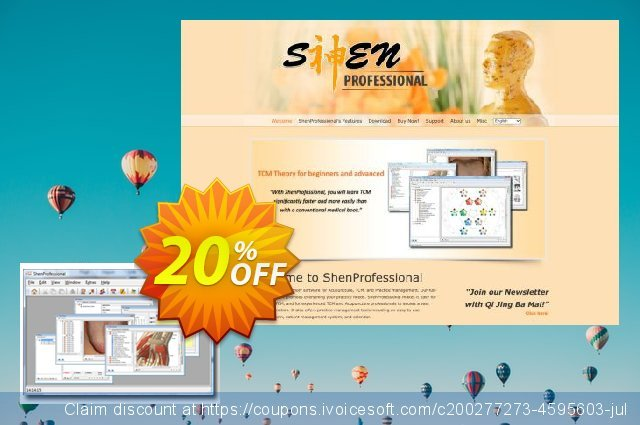 ShenProfessional 3.1 (PRT) discount 20% OFF, 2021 Happy New Year promo sales
