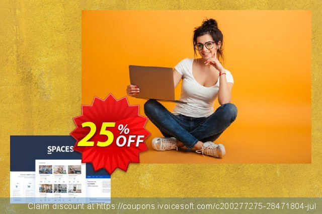 Themesberg Spaces - Coworking Bootstrap 4 Template discount 25% OFF, 2020 Back-to-School promotions promotions