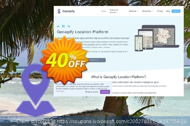Geoapify Platform (APIs) - Basic discount 40% OFF, 2020 Student deals offering sales