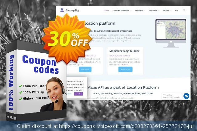 Geoapify Mapifator - Dynamic discount 40% OFF, 2020 University Student deals offering sales