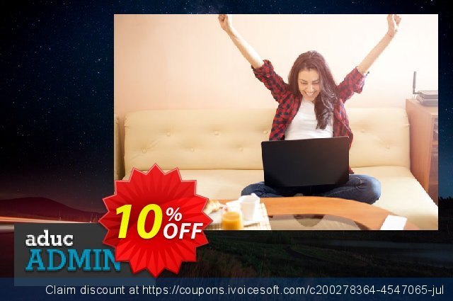 AducAdminPlus (Consultant) discount 10% OFF, 2021 New Year's Day deals