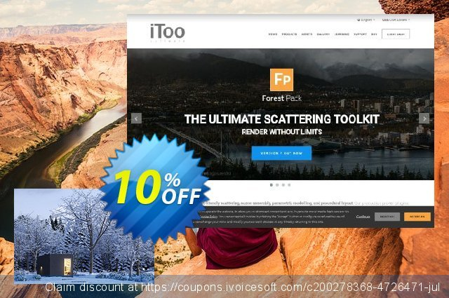 The3dGarden Winter Collection (Vol.01) discount 10% OFF, 2021 Happy New Year offering sales