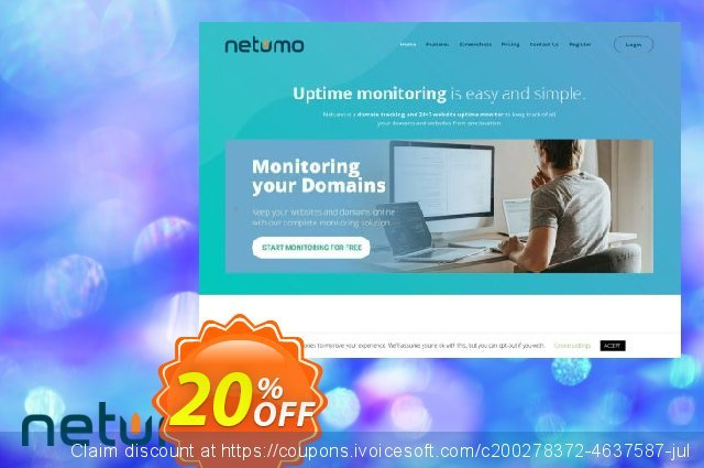 Netumo Value Monthly discount 10% OFF, 2020 Back to School shopping offer