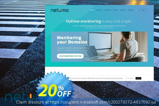 Netumo Plus Yearly discount 10% OFF, 2020 Student deals promo sales