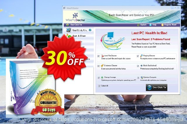 Wise PC Doctor (3 Years) discount 30% OFF, 2020 Back to School Promos offering sales