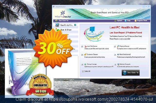 Wise PC Doctor (3 PC) discount 30% OFF, 2020 Back to School promotion offering sales