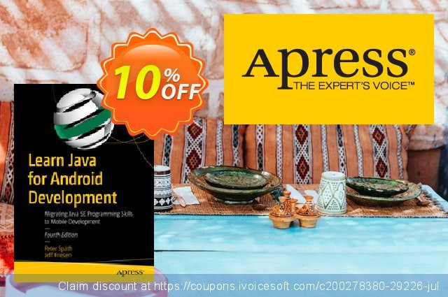 Learn Java for Android Development (Späth) discount 10% OFF, 2020 Teacher deals offering sales