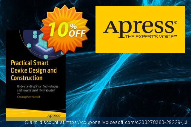 Practical Smart Device Design and Construction (Harrold) discount 10% OFF, 2020 Halloween discounts