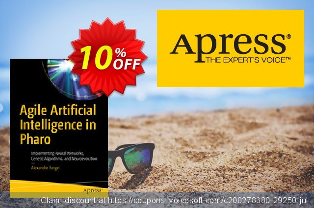 Agile Artificial Intelligence in Pharo (Bergel) discount 10% OFF, 2020 College Student deals promotions