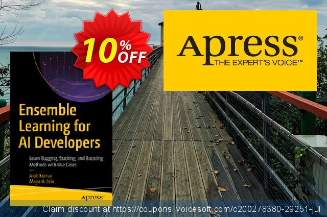 Ensemble Learning for AI Developers (Kumar) discount 10% OFF, 2020 College Student deals sales