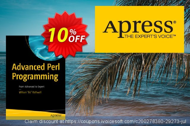 Advanced Perl Programming (Rothwell) discount 10% OFF, 2020 Back to School Promos discount