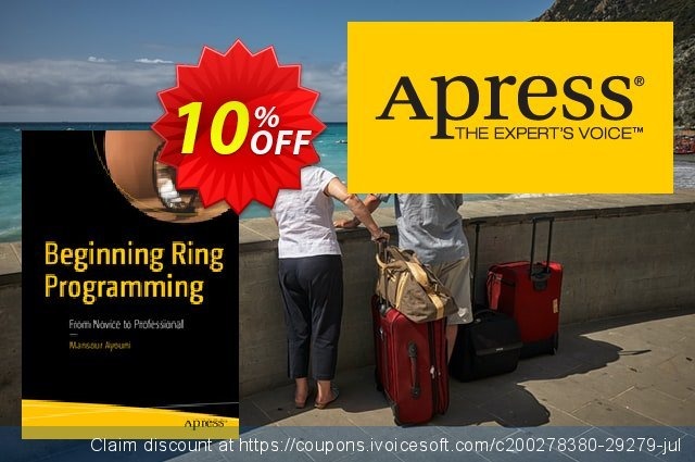 Beginning Ring Programming (Ayouni) discount 10% OFF, 2020 Back to School shopping offering sales