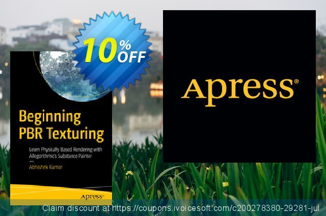 Beginning PBR Texturing (Kumar) discount 10% OFF, 2020 Back to School coupons offering sales