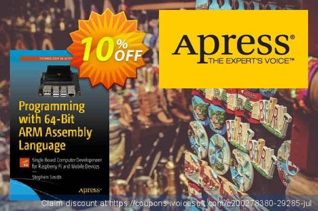 Programming with 64-Bit ARM Assembly Language (Smith) discount 10% OFF, 2020 Halloween offering sales