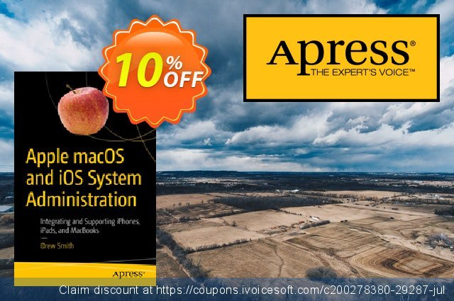 Apple macOS and iOS System Administration (Smith) discount 10% OFF, 2021 January offering sales
