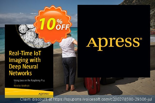 Real-Time IoT Imaging with Deep Neural Networks (Modrzyk) discount 10% OFF, 2020 Halloween promotions