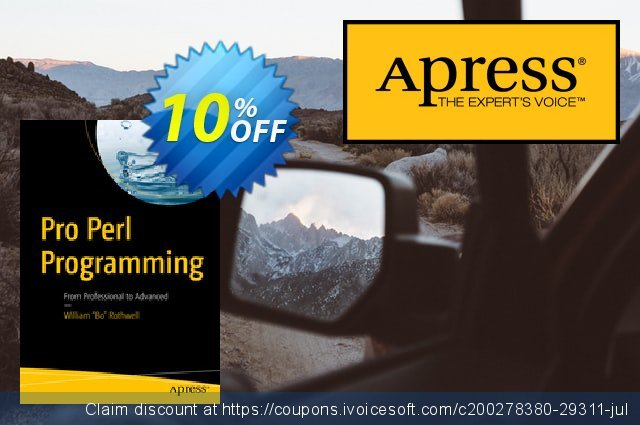 Pro Perl Programming (Rothwell) discount 10% OFF, 2021 All Hallows' evening offering discount. Pro Perl Programming (Rothwell) Deal