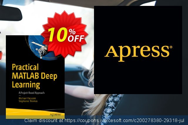 Practical MATLAB Deep Learning (Paluszek) discount 10% OFF, 2020 Back to School event offering sales