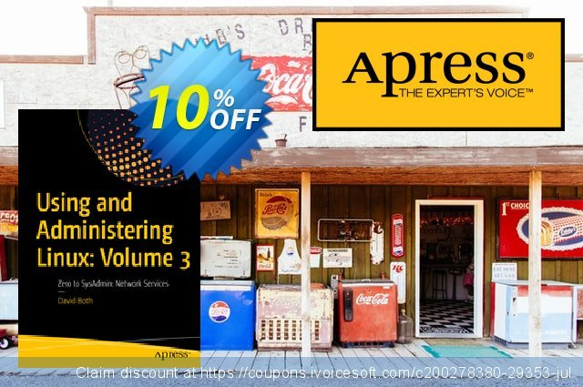 Using and Administering Linux: Volume 3 (Both) discount 10% OFF, 2020 Halloween promo