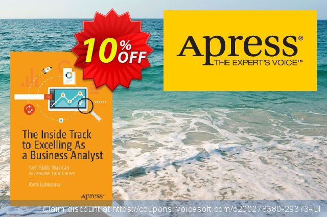 The Inside Track to Excelling As a Business Analyst (Lubwama) discount 10% OFF, 2020 Teacher deals promo