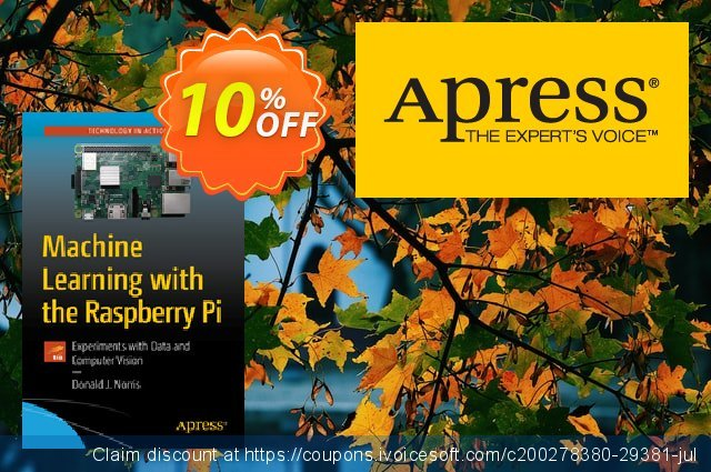 Machine Learning with the Raspberry Pi (Norris) discount 10% OFF, 2020 Back to School event offering sales
